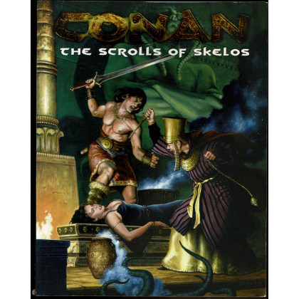 The Scrolls of Skelos (jdr Conan d20 System en VO) 001