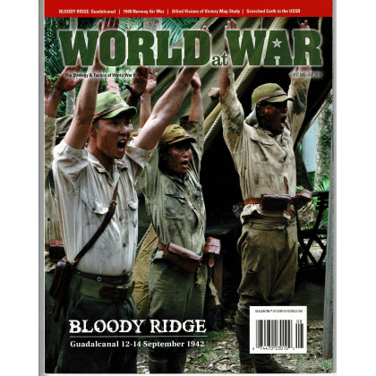 World at War N° 37 - Bloody Ridge 1942 (Magazine wargames World War II en VO) 001
