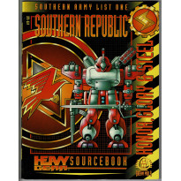 Southern Republic - Honor, Glory & Steel (jdr & figurines Heavy Gear en VO)