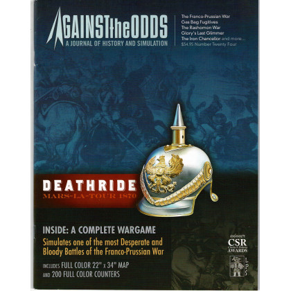 Against the Odds Volume VI Nr. 4 - Deathride Mars-la-Tour 1870 (A journal of history and simulation en VO) 001