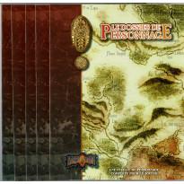 Earthdawn - Lot  de 5 Dossiers de Personnage (jdr des éditions BBE en VF)