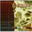 Earthdawn - Lot  de 5 Dossiers de Personnage (jdr des éditions BBE en VF) L139