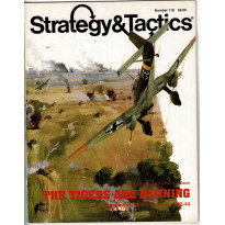 Strategy & Tactics N° 118 - The Tigers are burning (magazine de wargames & jeux de simulation en VO) 001