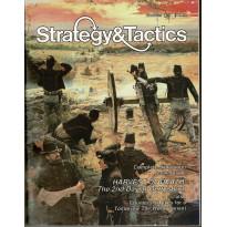 Strategy & Tactics N° 129 - Harvest of Death: The Second Day at Gettysburg (magazine de wargames en VO) 002