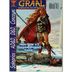 Graal Hors-Série N° 3 - Spécial Donjons & Dragons (Le mensuel des Jeux de l'Imaginaire)