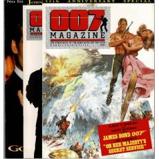 007 Magazine - Lot N° 27-28-29 (magazines James Bond 007 en VO)