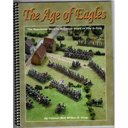 The Age of Eagles (livret règles jeu de figurines napoléonien en VO) 001