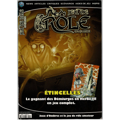 Jeu de Rôle Magazine N° 8 (revue de jeux de rôles) 004