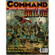 Command Magazine N° 42 - Shiloh & Blitzkrieg 1940 (magazine de wargames en VO)
