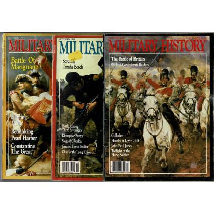 Military History - Lot 3 magazines (magazines d'histoire militaire en VO) L142
