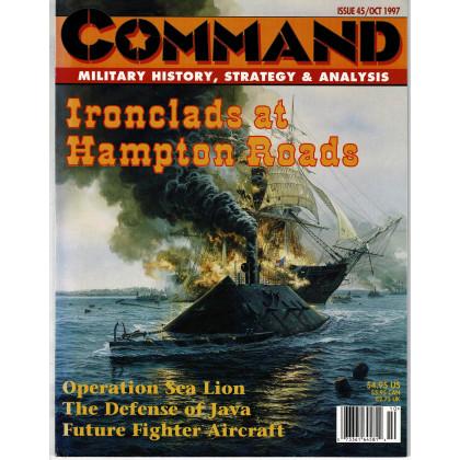 Command Magazine N° 45 - Ironclads at Hampton Roads (magazine de wargames en VO) 001