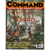 Command Magazine N° 46 - The End of Empire (magazine de wargames en VO)
