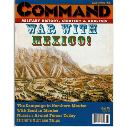 Command Magazine N° 40 - The Battle of Buena Vista (magazine de wargames en VO) 001