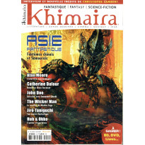 Khimaira N° 10 (magazine Fantastique Fantasy Science-fiction en VF) 001