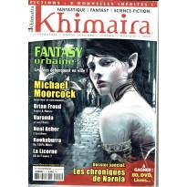 Khimaira N° 15 (magazine Fantastique Fantasy Science-fiction en VF) 001