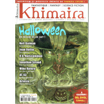 Khimaira N° 12 (magazine Fantastique Fantasy Science-fiction en VF) 001