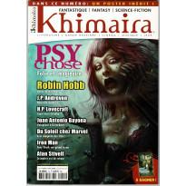 Khimaira N° 14 (magazine Fantastique Fantasy Science-fiction en VF) 001