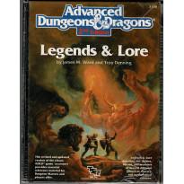Legends & Lore (jdr AD&D 2e édition de TSR en VO) 002