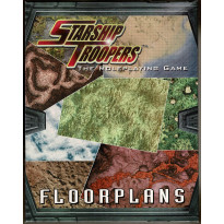 Starship Troopers Rpg - Floorplans (jdr de Mongoose Publishing en VO)