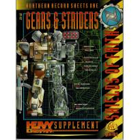 Gears & Striders - Shields of Faith (jdr & figurines Heavy Gear en VO)