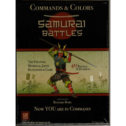 Commands & Colors - Samourai Battles (wargame GMT en VO) 002
