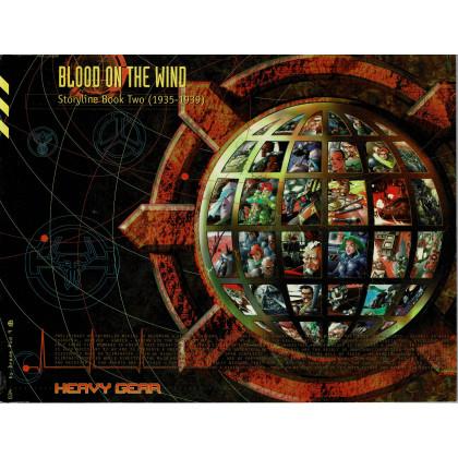 Blood on the Wind (jdr & figurines Heavy Gear en VO) 001