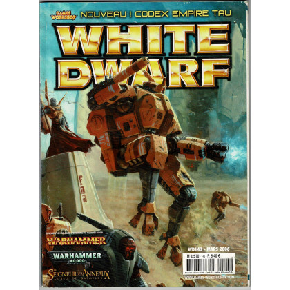 White Dwarf N° 143 (magazine de jeux de figurines Games Workshop en VF) 002