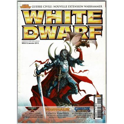 White Dwarf N° 213 (magazine de jeux de figurines Games Workshop en VF) 002