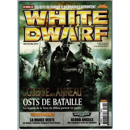 White Dwarf N° 193 (magazine de jeux de figurines Games Workshop en VF) 001
