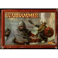Guerriers Nains (boîte figurines Warhammer en VF)