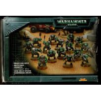 Boyz Orks (boîte figurines Warhammer 40,000 en VF) 001