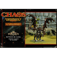Buveur de Sang - Démon Majeur de Khorne (boîte de figurine Warhammer en VF)