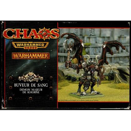 Buveur de Sang - Démon Majeur de Khorne (boîte de figurine Warhammer en VF) 001