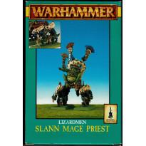 Lizardmen Slann Mage Priest (boîte de figurines Warhammer en VO)
