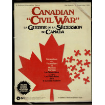 Canadian Civil War (wargame de SPI en VO et VF) 001