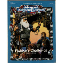 HHQ1 Fighter's Challenge (jdr AD&D 2e édition de TSR en VO) 001