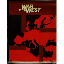 War in the West - First Edition (wargame de SPI en VO) 001