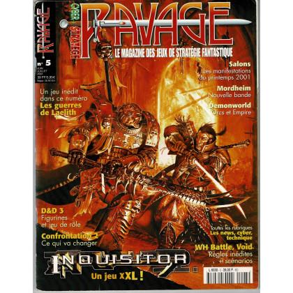 Ravage N° 5 (le Magazine des Jeux de Stratégie Fantastique) 005