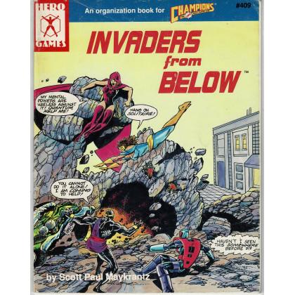 Champions - Invaders from Below (jdr Hero Games en VO) 001