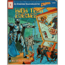Champions - High Tech Enemies (jdr Hero Games en VO)