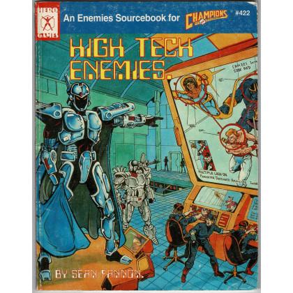 Champions - High Tech Enemies (jdr Hero Games en VO) 001