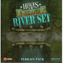 Heroes of Normandie - River Set Terrain Pack (jeu de Devil Pig Games) 001