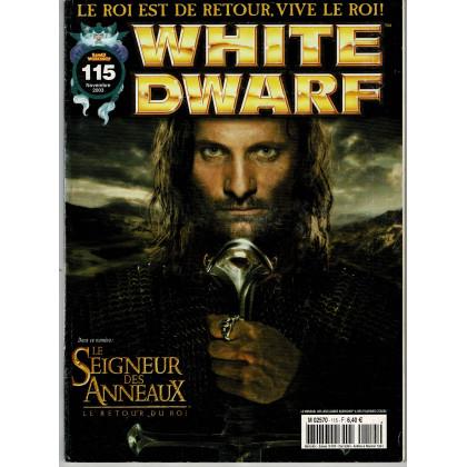 White Dwarf N° 115 (magazine de jeux de figurines Games Workshop en VF) 002