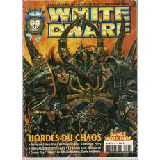 White Dwarf N° 98 (magazine de jeux de figurines Games Workshop en VF)