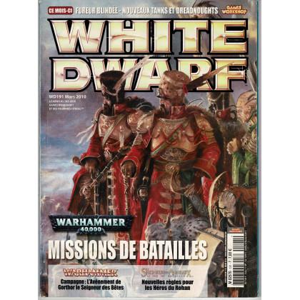 White Dwarf N° 191 (magazine de jeux de figurines Games Workshop en VF) 001