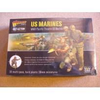 WW2 Pacific Theatre US Marines (boîte figurines Bolt Action en VO) 001