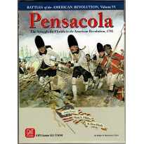 Pensacola - The Struggle for Floridia 1781 (wargame de GMT en VO)