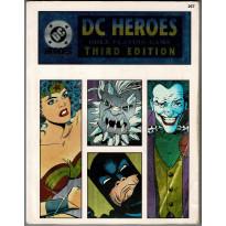 DC Heroes RPG - Third Edition (jdr de Mayfair Games en VO) 001