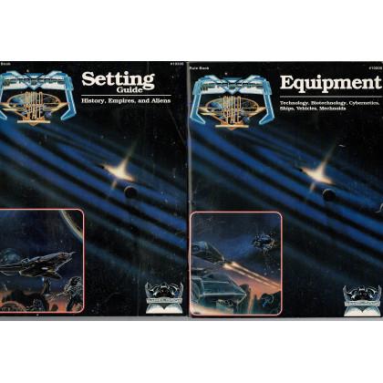 Metascape & Guild Space - Lot de 2 livrets (jdr de The Game Lords en VO) L143