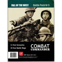 Fall of the West - Battle Pack Nr 5 (wargame Combat Commander de GMT en VO) 001